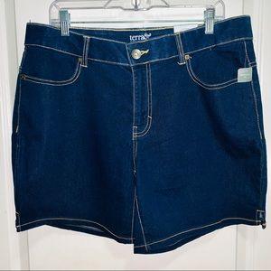 Terra & Sky Denim Shorts